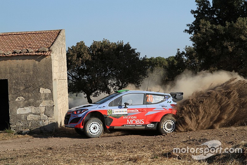 Paddon leads Rally Sardinia over VW duo