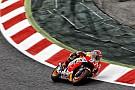 Márquez acepta desventaja con Rossi y Lorenzo