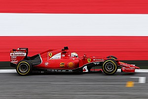Vettel and Raikkonen in top three Friday practice for the Austrian GP