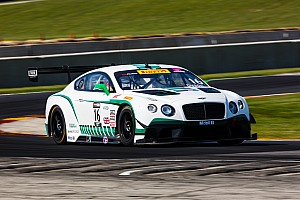 Chris Dyson a winner for Bentley in up and down Road America World Challenge tripleheader