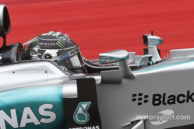 Mercedeses es reprendido por el incidente con Rosberg