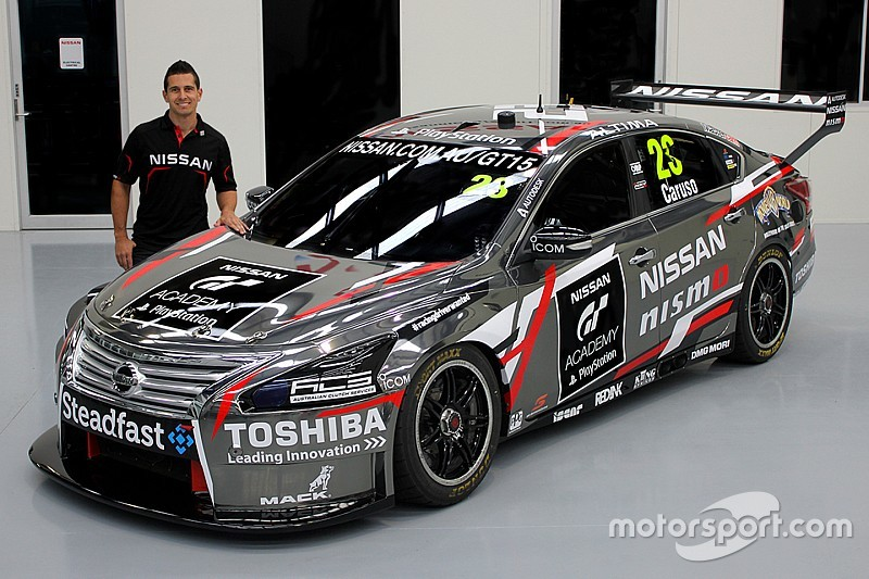 Caruso Nissan to run fresh livery in Townsville