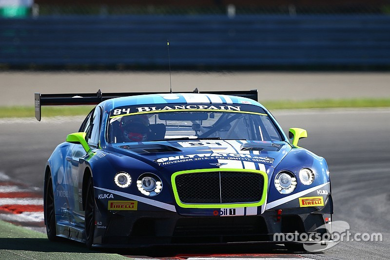 Bentley team HTP wins in Moscow