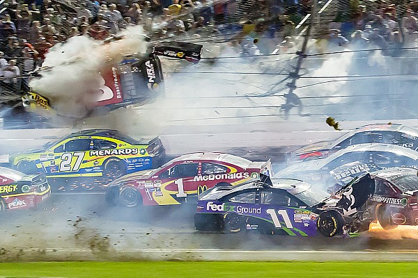 Not his first rodeo: Austin Dillon reflects on his Daytona crash