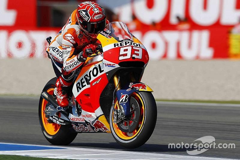 Márquez, con el objetivo de derrotar a Yamaha