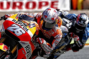 MotoGP Practice report Marquez sets the pace on day one in Germany with Pedrosa 5th