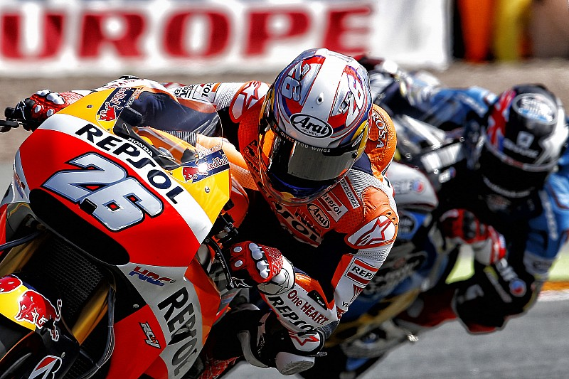 Marquez sets the pace on day one in Germany with Pedrosa 5th