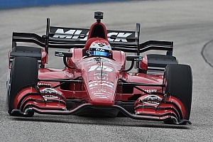 IndyCar Race report Rahal finishes third for Honda at The Milwaukee Mile