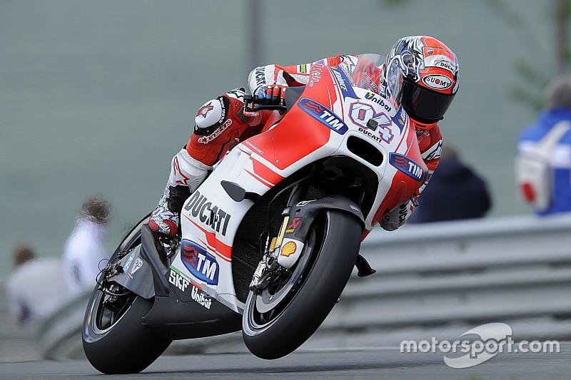 Dovizioso admite que início de ano da Ducati não era real