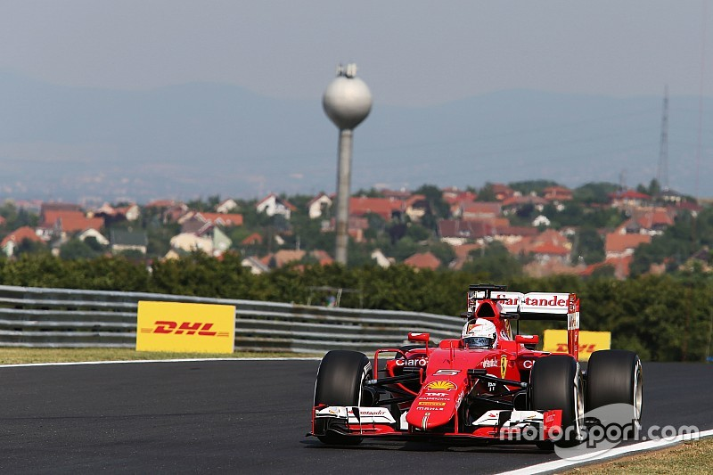 No fue el mejor día para Vettel y Ferrari