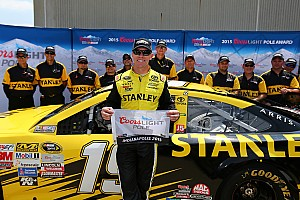 NASCAR Sprint Cup Qualifying report Carl Edwards captures first Brickyard 400 pole
