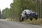 Ogier holds slender Rally Finland advantage