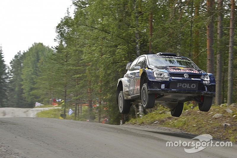 Ogier holds slender Rally Finland advantage