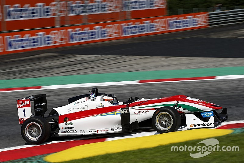 Rosenqvist and Giovinazzi share remaining Spielberg poles