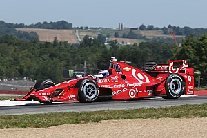 IndyCar Practice report Scott Dixon tops practice at Mid-Ohio for Ganassi
