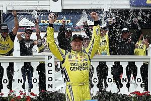 NASCAR Truck Reporte de la carrera Busch gana de nuevo: ahora en  camionetas