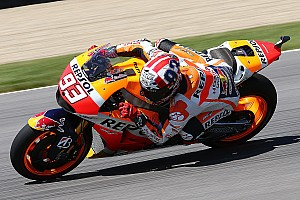 MotoGP Practice report Honda: Battle intensifies in Indianapolis at the Red Bull GP