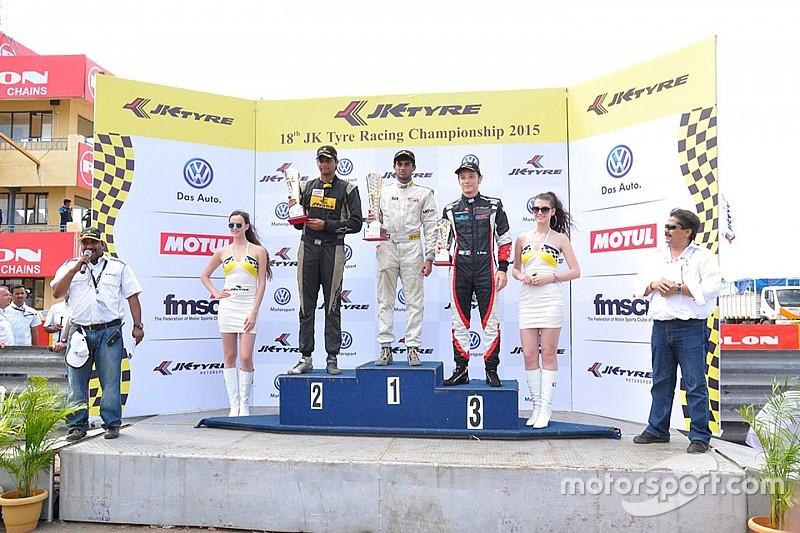 Rabindra bounces back to win final race of Coimbatore weekend