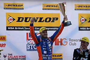 BTCC Breaking news Goff hails MG's Snetterton pace after breakthrough win