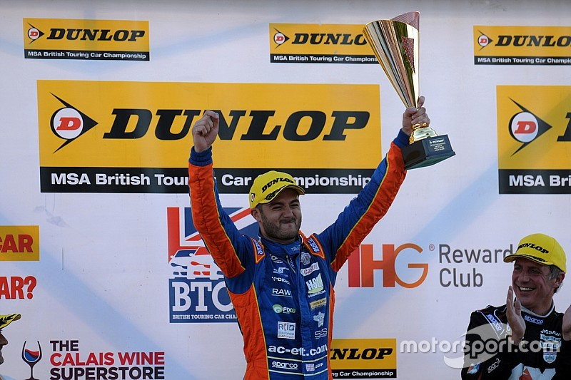 Goff hails MG's Snetterton pace after breakthrough win
