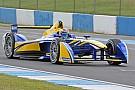 Buemi breaks Donington testing lap record