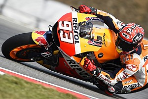 "Marquez: ""If I carried on pushing, I would have crashed"""