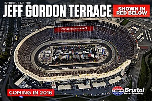 Bristol Motor Speedway pays tribute to Jeff Gordon