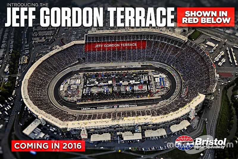 Bristol Motor Speedway pays tribute to Jeff Gordon