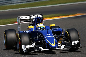 Formula 1 Qualifying report A disappointing result in qualifying for Sauber at Spa