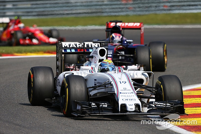 Massa finished sixth and Bottas ninth in the Belgian GP