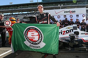 IndyCar Qualifying report Will Power takes Sonoma pole