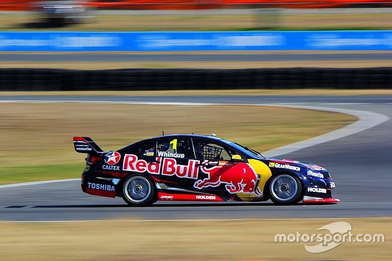 V8 testing continues at Queensland Raceway