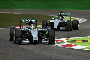 Hamilton waits on Rosberg engine investigation