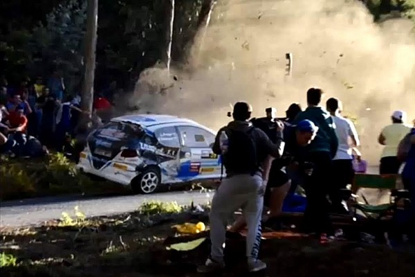 Other rally Breaking news Spanish rally crash leaves seven dead