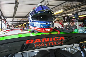 NASCAR Sprint Cup Breaking news The Lady in Black was not kind to Danica Patrick