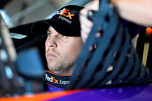 NASCAR Sprint Cup Breaking news Hamlin tears ACL in right knee, will continue to race