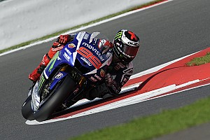 MotoGP Practice report Lorenzo breaks circuit best lap as Misano MotoGP begins