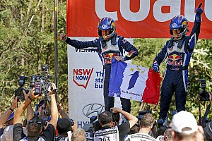 WRC Race report Ogier wins third World Championship