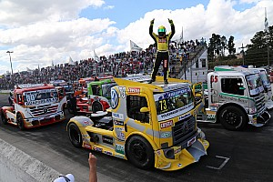 Fórmula Truck Relato da corrida Leandro Totti leva a melhor em Curitiba