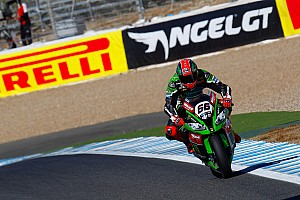 World Superbike Qualifying report Sykes claims Spanish Superpole with new outright record