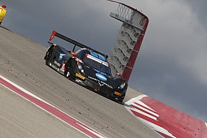 Wayne Taylor Racing celebrates the runner-up result at COTA