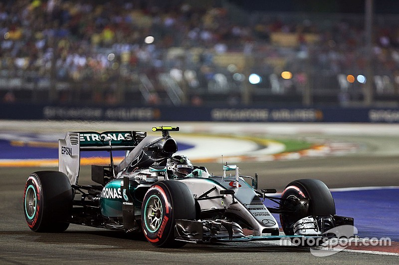 Rosberg: Lack of pace at Singapore