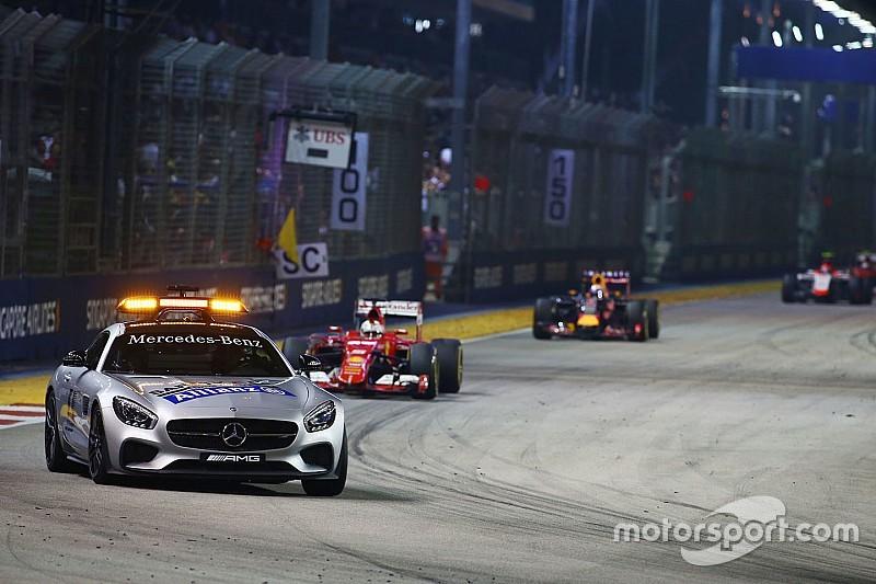 Singapore GP track intruder arrested