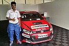 Touring Tharani to make his international racing debut