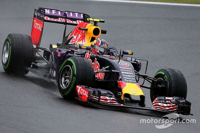 Japanese GP: Kvyat quickest in rain-hit FP2