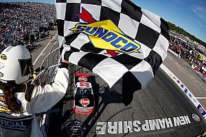 NASCAR Truck Race report Austin Dillon wins Truck race at New Hampshire