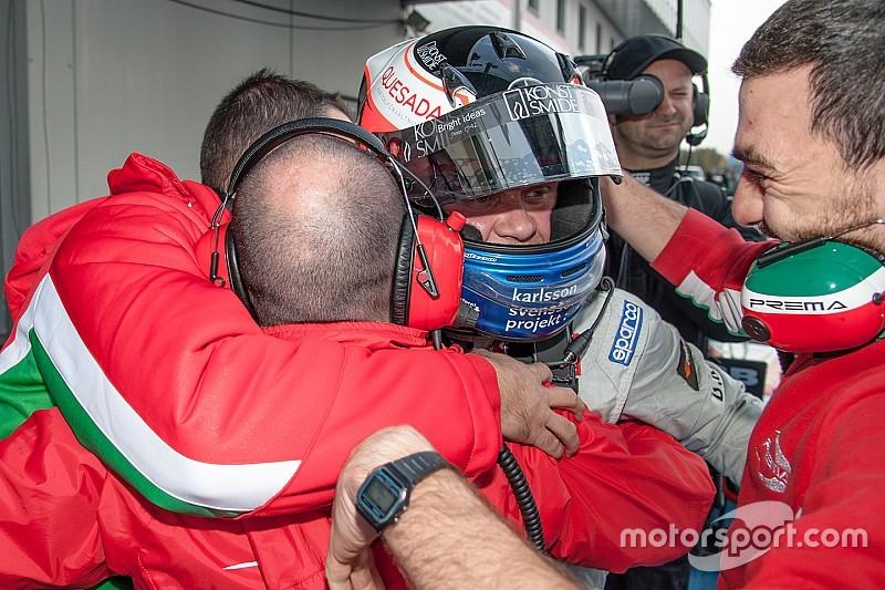 Rosenqvist gana el título con su quinta victoria consecutiva