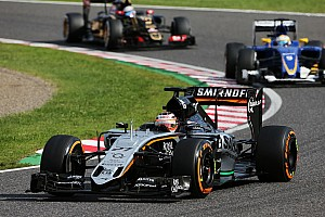 Formula 1 Race report Sahara Force India scored eight points in today's Japanese GP