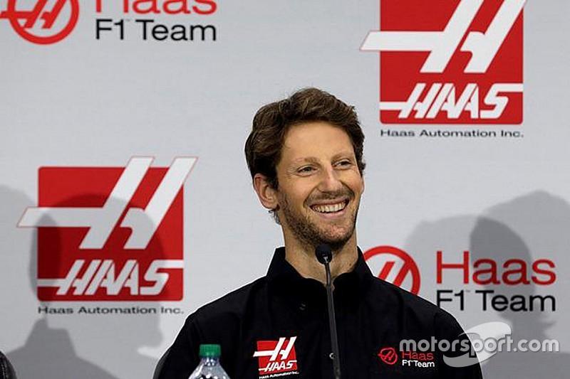 Romain Grosjean, confirmado en Haas F1