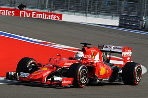 Formula 1 Qualifying report Ferrari fourth and fifth in Sochi